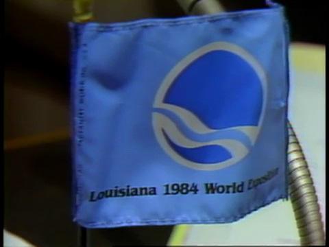 Louisiana World Exposition Flag