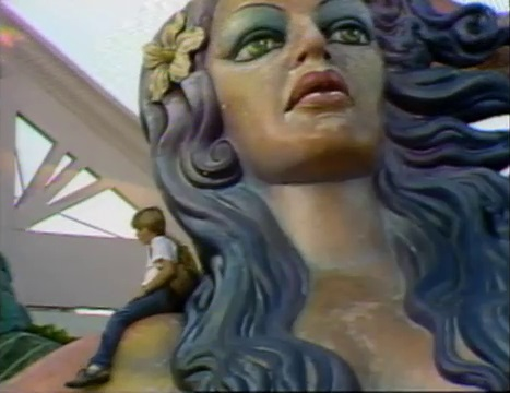 Mermaid Statue from the 1984 World's Fair