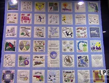 Louisiana World Exposition Quilt