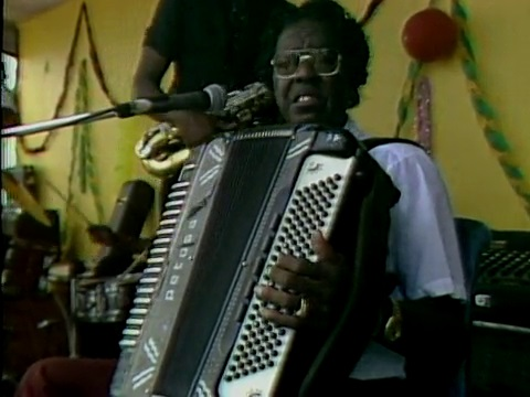 Clifton Chenier at Zydeco Festival