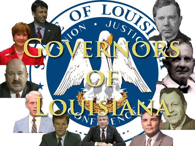 Pictures of the Governors of Louisiana
